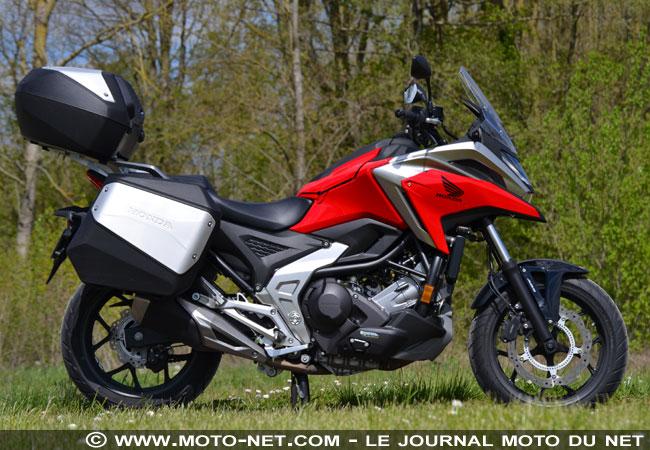 Essai longue distance Honda NC750X 2021 Essai-21