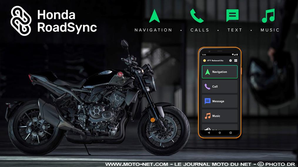 Application mobile Honda Roadsync pour moto et scooter Ffffff16