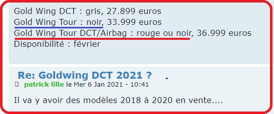 Goldwing DCT 2021 ? - Page 2 Ffffff39