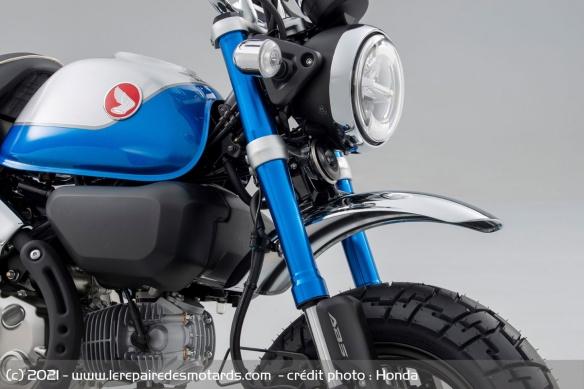 Moto Honda Monkey 2022 (+vidéo) Fourch10