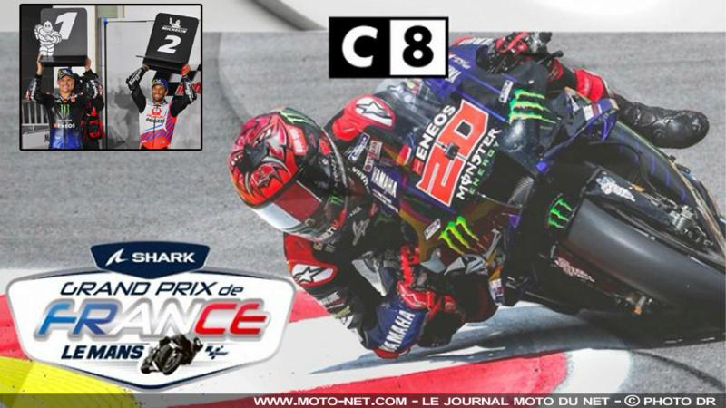 MotoGP - Grand Prix de France le dimanche 16 mai sur C8 Gp-fra10
