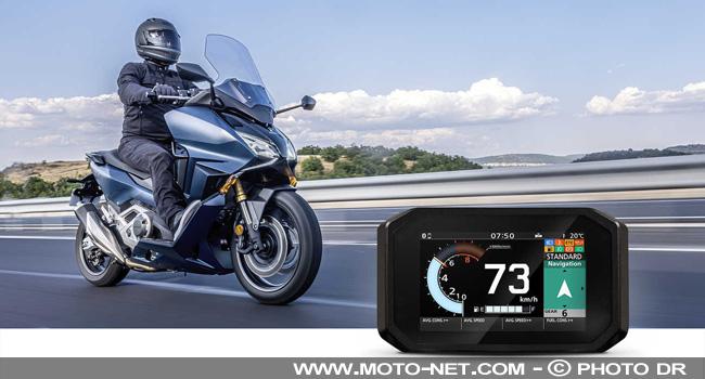 Application mobile Honda Roadsync pour moto et scooter Gtyhu10
