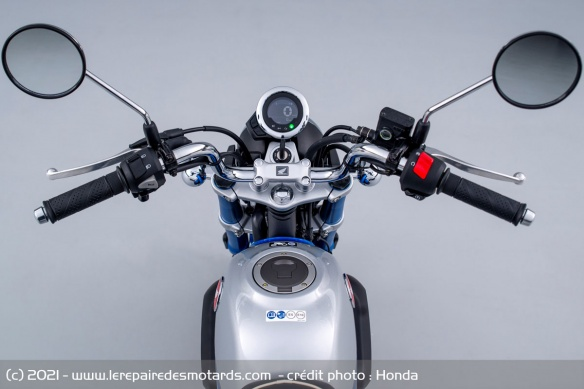 Moto Honda Monkey 2022 (+vidéo) Guidon10