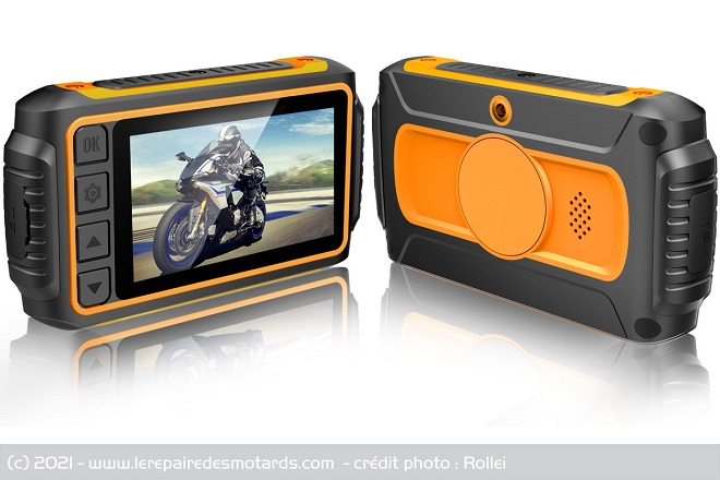 Caméra Dashcam moto Rollei M1 Hhhhhh15