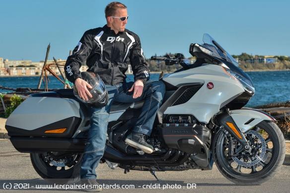 Essai moto Honda GoldWing GL1800 DCT 2021 (+vidéo) Honda-12