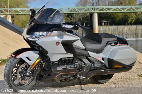 Essai moto Honda GoldWing GL1800 DCT 2021 (+vidéo) Honda-13
