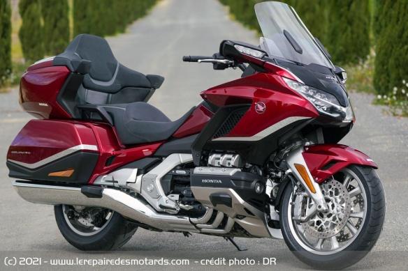 Essai moto Honda GoldWing GL1800 DCT 2021 (+vidéo) Honda-14