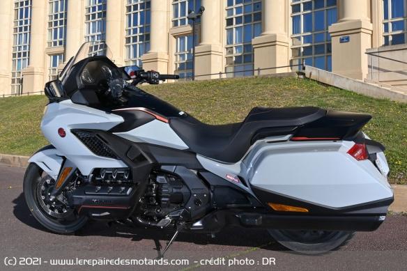 Essai moto Honda GoldWing GL1800 DCT 2021 (+vidéo) Honda-15