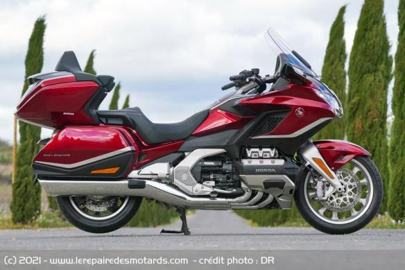 Essai moto Honda GoldWing GL1800 DCT 2021 (+vidéo) Honda-17