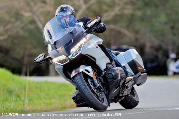 Essai moto Honda GoldWing GL1800 DCT 2021 (+vidéo) Honda-19