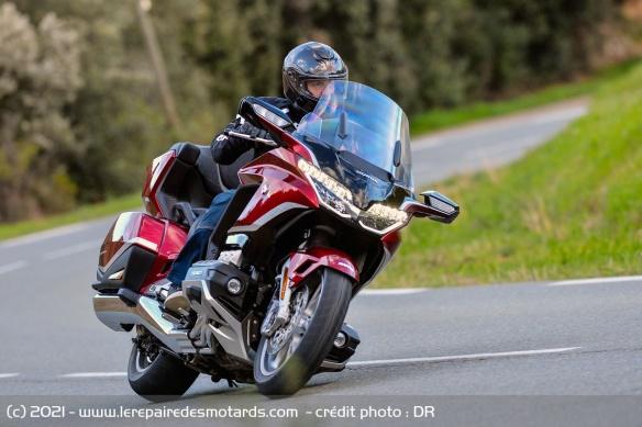 Essai moto Honda GoldWing GL1800 DCT 2021 (+vidéo) Honda-22