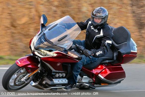 Essai moto Honda GoldWing GL1800 DCT 2021 (+vidéo) Honda-23
