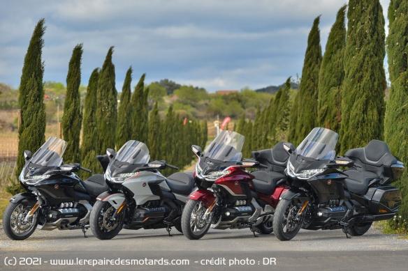 Essai moto Honda GoldWing GL1800 DCT 2021 (+vidéo) Honda-25