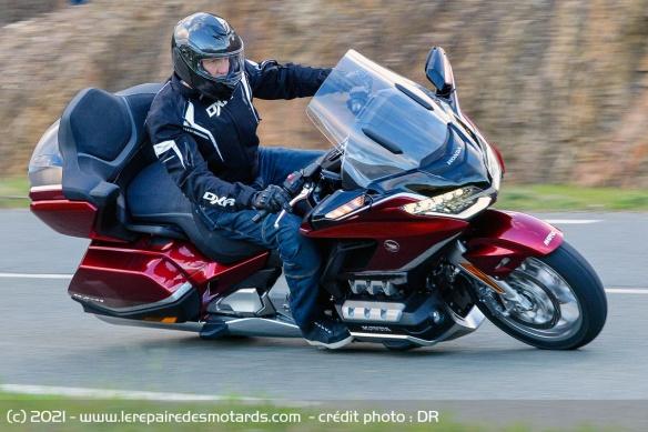 Essai moto Honda GoldWing GL1800 DCT 2021 (+vidéo) Honda-26