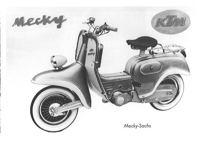 Quand KTM vendait aussi des scooters… Ktm-me13