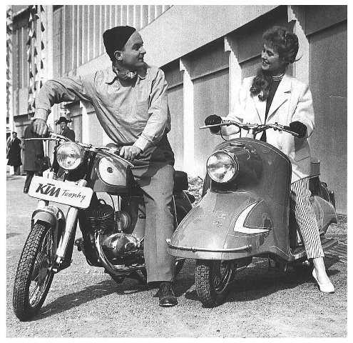 Quand KTM vendait aussi des scooters… Ktm-sc11