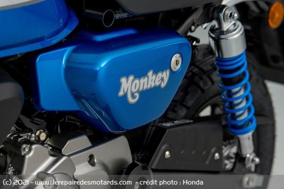 Moto Honda Monkey 2022 (+vidéo) Logo-m10