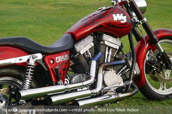 Essai moto Feuling W3 Moteur12
