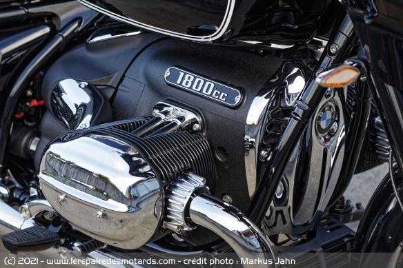 Essai BMW R18 B - B comme Bagger Moteur14