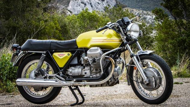 V7 750 Sport : la Guzzi la plus sportive de l'Histoire (+vidéo) Moto-g16