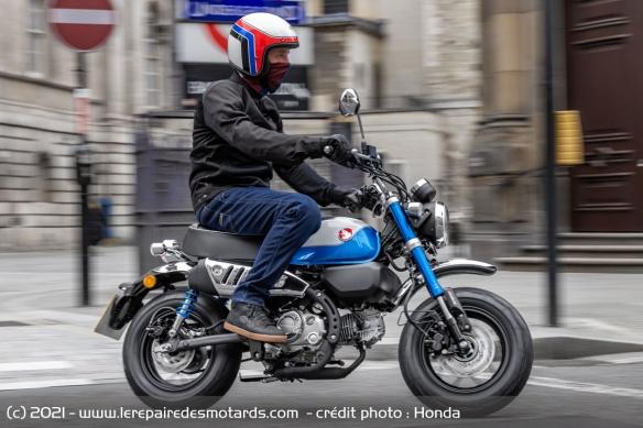 Moto Honda Monkey 2022 (+vidéo) Moto-h11