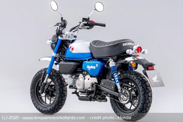 Moto Honda Monkey 2022 (+vidéo) Moto-h12