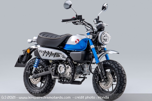Moto Honda Monkey 2022 (+vidéo) Moto-h13