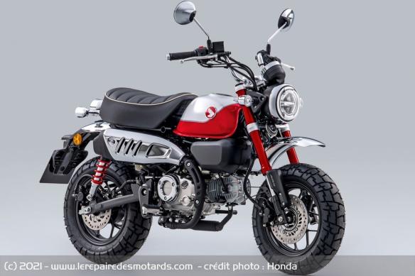 Moto Honda Monkey 2022 (+vidéo) Moto-h14