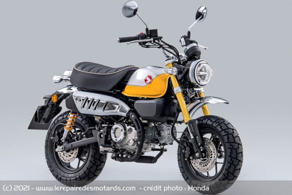 Moto Honda Monkey 2022 (+vidéo) Moto-h15