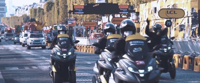 Tour de France cycliste : où et comment sont formés les pilotes moto Moto-t10