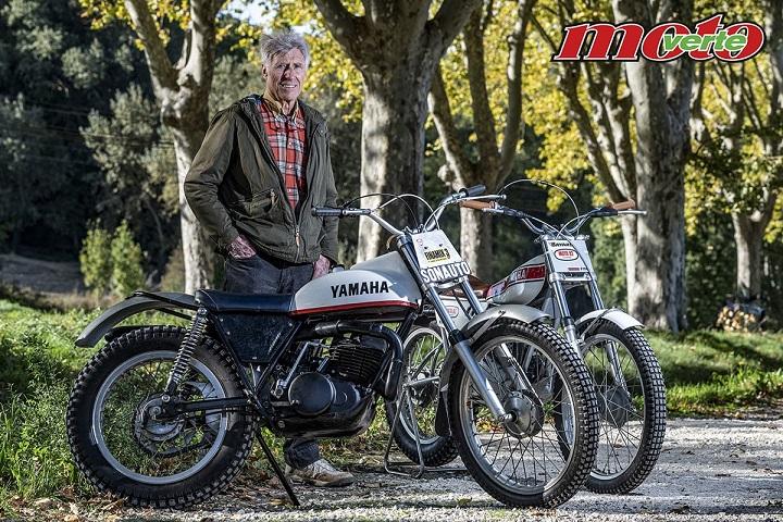 Christian Rayer, un pionnier créateur de la Yamaha TY Ouvert11