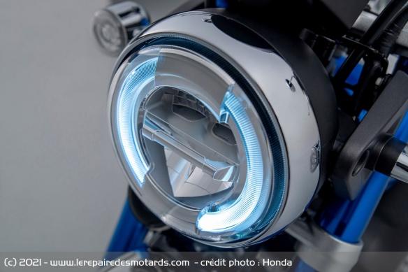 Moto Honda Monkey 2022 (+vidéo) Phare-11