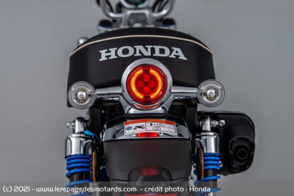Moto Honda Monkey 2022 (+vidéo) Phare-12