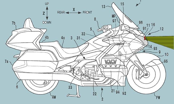 Après Ducati et BMW, au tour de la Goldwing de passer au radar Radar_11