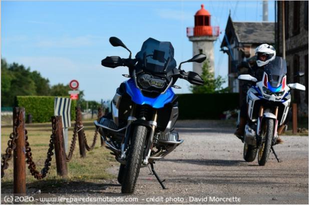 Comparatif - BMW R 1250 GS Adventure VS Honda CRF 1100 L Africa Twin Adventure Sports: les trails au sommet Rrttjh10