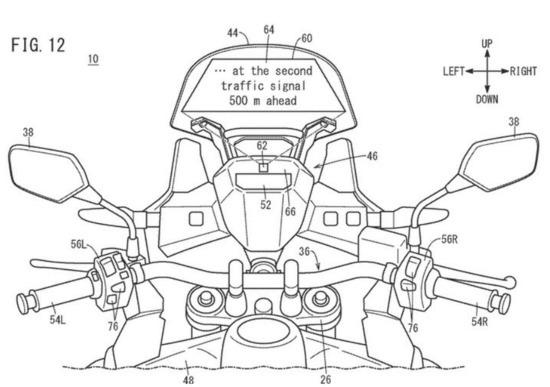 Honda dépose des brevets pour l'affichage tête haute S1-bre10