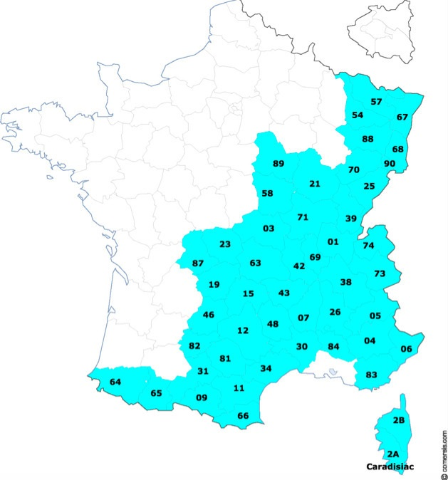 Pneus hiver obligatoires : la liste des départements et communes concernés S1-pne12