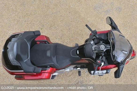 Essai moto Honda GoldWing GL1800 DCT 2021 (+vidéo) Selles10