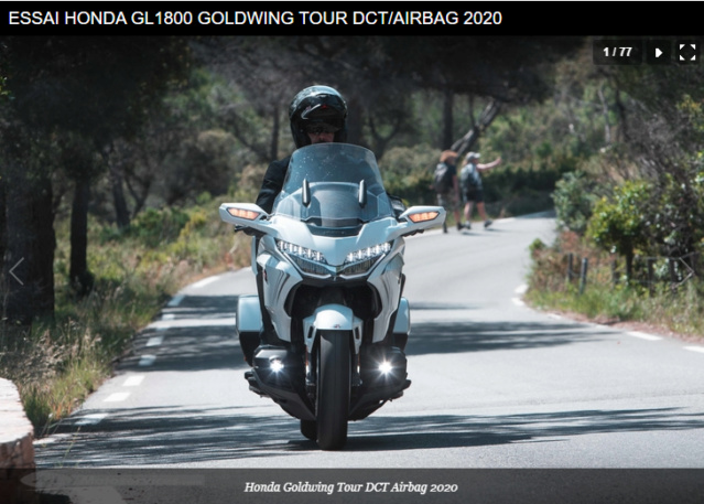 ESSAI HONDA GL1800 GOLDWING TOUR DCT/AIRBAG 2020 Snip1142