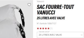 Les sacs à compression Vanucci Snip1152