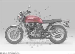 Embrayage moto auto : le retour du Hondamatic Snip1163