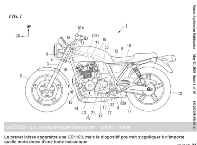 Embrayage moto auto : le retour du Hondamatic Snip1165