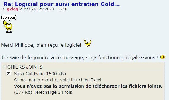 Logiciel pour suivi entretien Gold... - Page 2 Snip_756