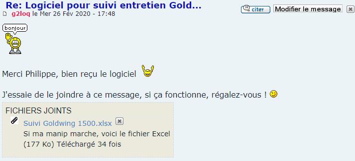 Logiciel pour suivi entretien Gold... - Page 2 Snip_757