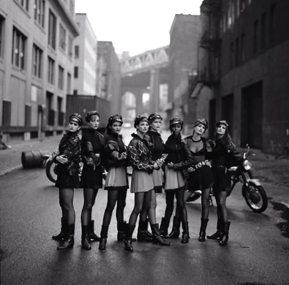 Peter Lindbergh - La mode et les motos Snip_828