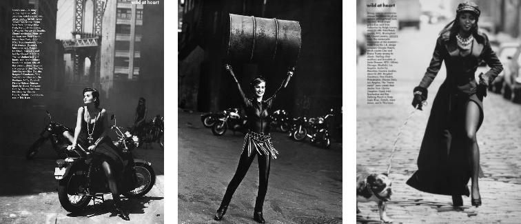 Peter Lindbergh - La mode et les motos Snip_833