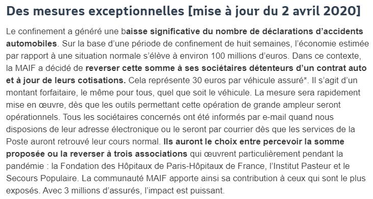 """Sociétaire """" MAIF """"  Snip_866"""
