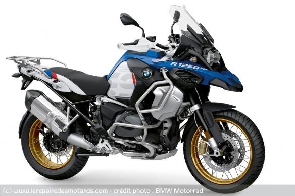 Essai BMW R 1250 GS 40 Years Edition (2021) (+ vidéo) Tech-b12