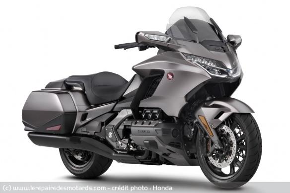 Essai moto Honda GoldWing GL1800 DCT 2021 (+vidéo) Tech-h10