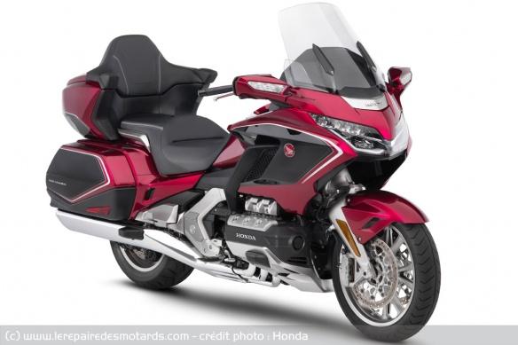 Essai moto Honda GoldWing GL1800 DCT 2021 (+vidéo) Tech-h11